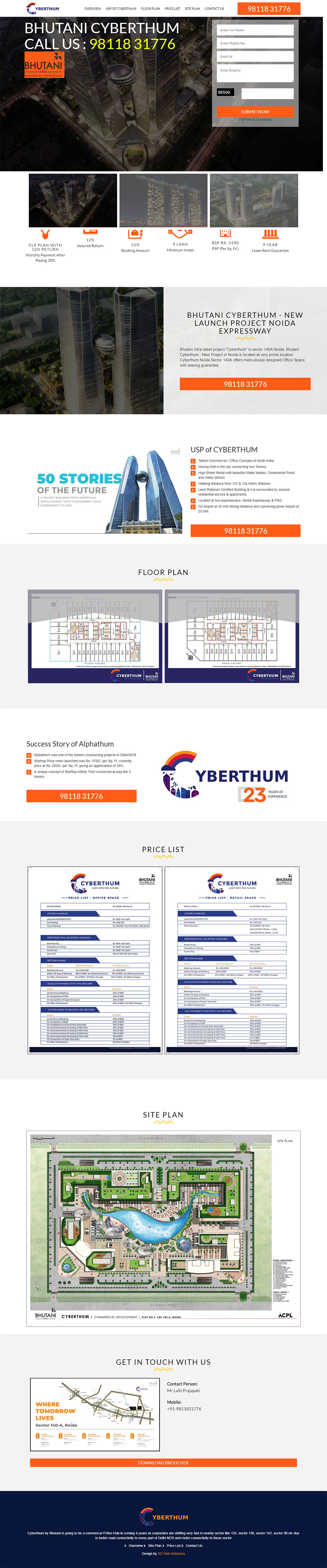 SD Websolutions Portfolio: Cyber Thumb