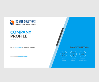 how to create software company profile